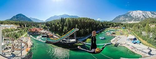 """Die """"Area 47"""" ist eine 66.000 Quadratmeter große Abenteuerspielwiese am Eingang zum Ötztal. Foto: djd/Imst Tourismus"""