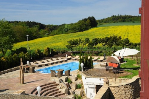 Hotel Freund Mediterranes Schwimmbad