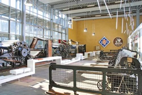 Große Historie: Das Museum Tuch + Technik erzählt von der Zeit Neumünsters als international bekannte Industrie- und Textilstadt. (Foto: epr/Museum Tuch + Technik