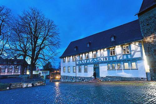 """Wetzlar ist stolz auf Goethes Spuren. Das """"Lotte-Haus"""", einst Wohnsitz der Familie Buff, wurde aufwendig restauriert und ist für Besucher geöffnet. Foto: djd/Tourist-Information Wetzlar"""
