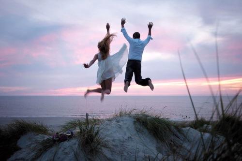151 Paare haben im vergangenen Jahr auf Amrum den Sprung in die Ehe gewagt. Foto: djd/Amrum