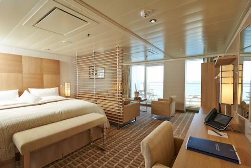 Foto: Hapag-Lloyd Kreuzfahrten, MS EUROPA 2, Grand Suite