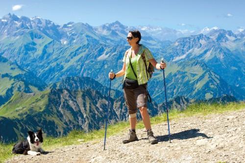 Tolles Panorama: Österreich bietet nicht nur eindrucksvolle Landschaften, sondern auch eine Menge Möglichkeiten für Hund und Herrchen, den Urlaub gemeinsam zu verbringen. (Foto: epr/Christoph Hähnel/Fotolia)