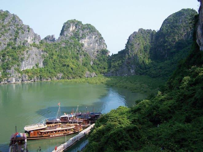 Vietnam, Halong Bucht Foto: Gebeco/goXplore