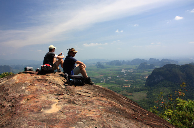 Blick vom Khao Ngorn Nak Gipfel Foto: Wikinger Reisen