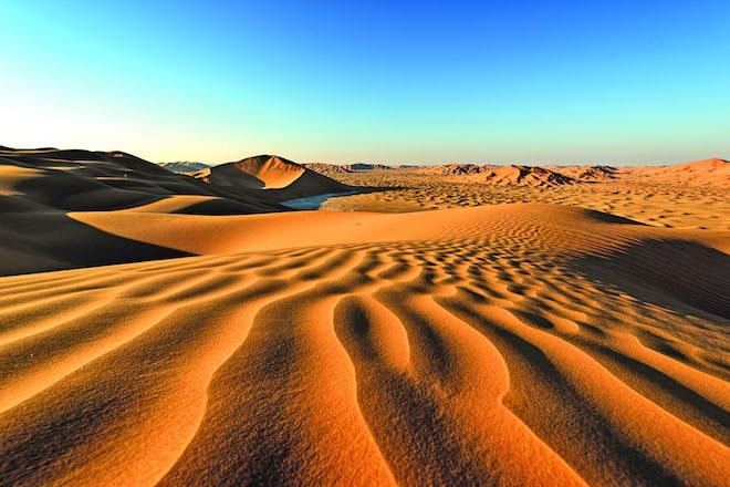 Extreme Hitze am Tag, pausenloser Wind und unbarmherzige Trockenheit: Wüsten sind Lebensräume, die ihren Bewohnern alles abverlangen. Foto: djd/Bedu