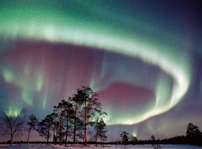 Unvergesslich: Auf den Spezialreisen zur Polarlichtbeobachtung nach Lappland des Reiseveranstalters Arktis Reisen Schehle erlebt man das beeindruckende Naturschauspiel aus nächster Nähe. (Foto: epr/Arktis Reisen Schehle)