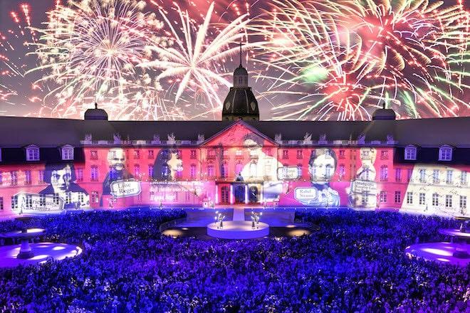 Die Fächerstadt Karlsruhe feiert 2015 ihren 300. Geburtstag mit viel Show, Kunst und Kultur. Foto: djd/Stadtmarketing Karlsruhe GmbH