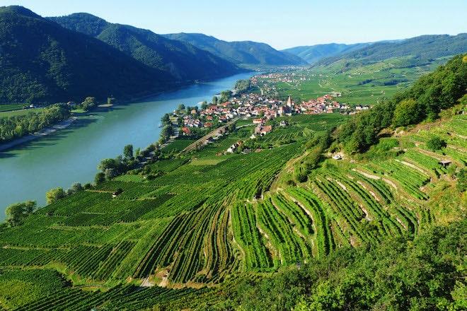 Blick auf die Donau bei Achleiten. Foto: djd/DT