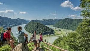 Quelle: BILD zu TP/OTS - 24-Stunden-Wanderung am Donausteig