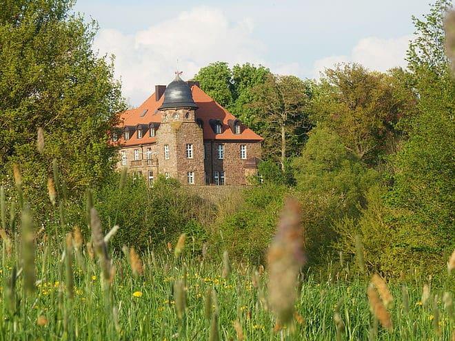 Rittergut Burg Borgholz Foto: LandReise.de