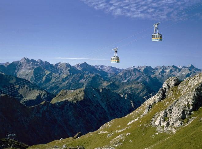 """Der Name ist Programm: Mit dem Arrangement """"Bergsommer"""" gibt es sieben Tage lang die Möglichkeit, alle sechs Bergbahnen der Region aktiv zu nutzen. (Foto: epr/Tourismus Oberstdorf)"""