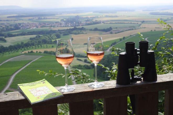 Schon Goethe wusste den Frankenwein zu schätzen. Für die Menschen hier ist er ein Volksgetränk, für Kenner zählt er zu den besten Tropfen der Welt. Foto: djd/TI Schweinfurt 360°/TV Franken/A. Hub