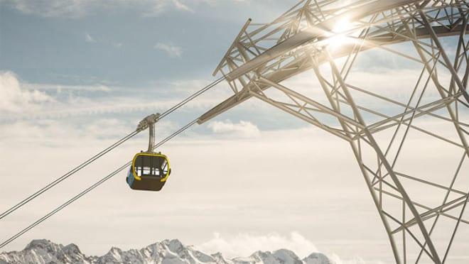 Neue Penkenbahn in Mayrhofen Foto: Snowplaza