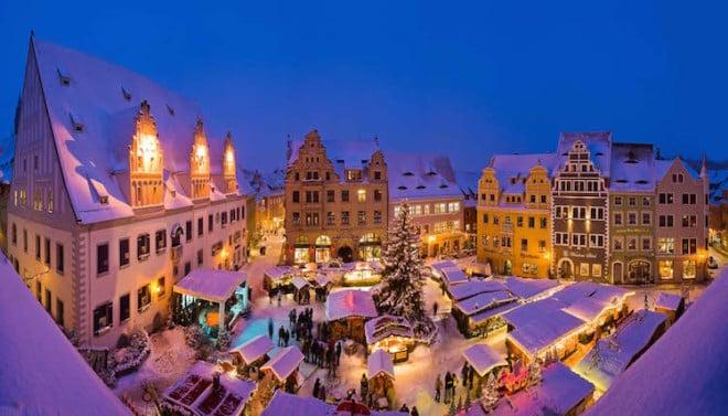 Weihnachtsmarkt auf dem Marktplatz in Meissen.Bild: © www.dresden-fotografie.de, Sylvio Dittrich