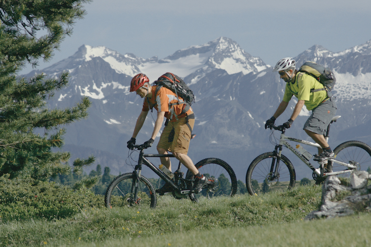 Unterwegs auf dem Bike. Foto: Ski- & Almenregion Gitschberg Jochtal