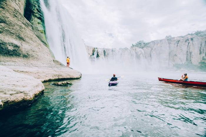 Kayaking/Canoeing, Shoshone Falls, Twin Falls © Visit Idaho