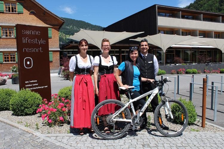 Das Team der Sonne Mellau im Bregenzerwald
