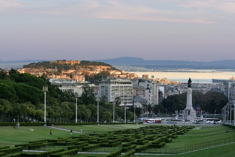 Parque Eduardo VII Bild: © Turismo de Lisboa, www.visitlisboa.com