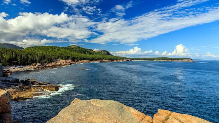 Diese atemberaubenden Ausblicke über die Küste von Maine findet man überall im Acadia Nationalpark Foto: National Park Service, Kristi Rugg
