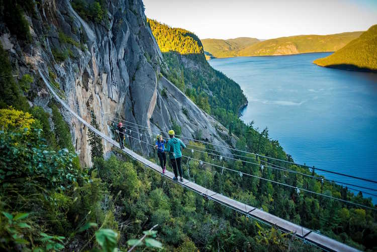 Wandern im Nationalpark Saguenay-Lac-Saint-Jean Foto: © Outpost Saguenay Lac Saint Jean
