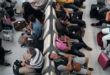 Warten am Flughafen: Bis zu 600 Euro Entschädigung bei Verspätungen. Foto: iStock/enviromantic/EUclaim/spp-o