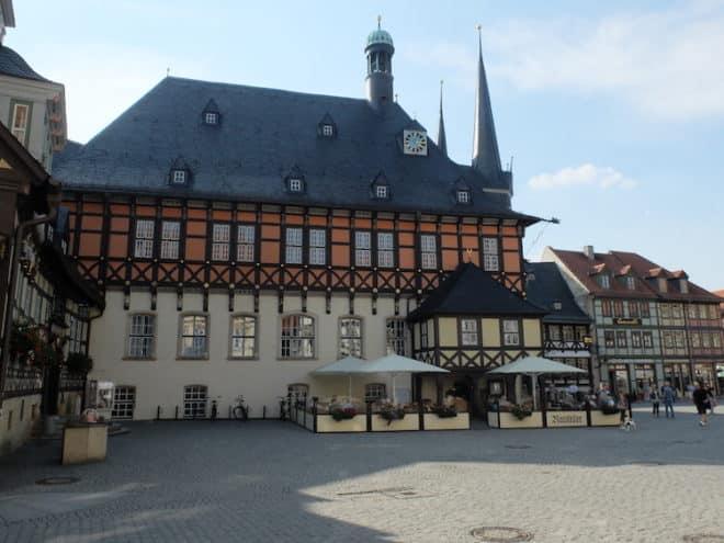 Rathaus Wernigerode Foto: Axel Ehrhardt