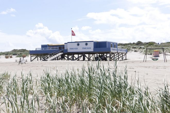 Nordseeurlaub mit Strandsauna