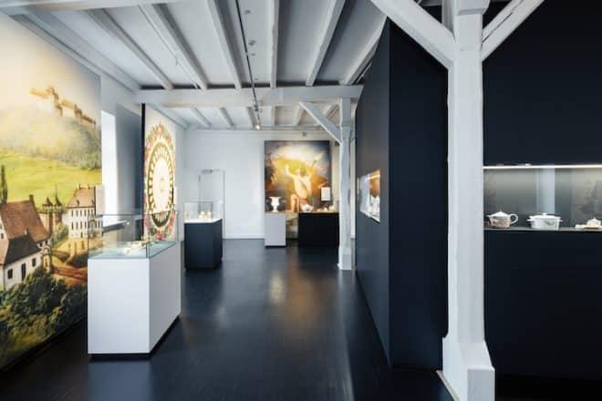 Drei Jahrhunderte Porzellan kann im Schloss Museum Fürstenberg bewundert werden