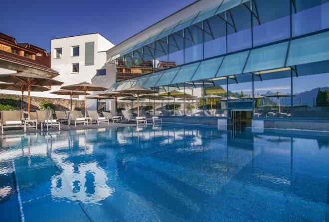 Im Vier-Sterne-Hotel Löwe in Tirol wird der Familienurlaub garantiert nicht langweilig.