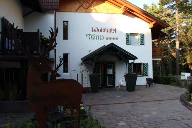 Waldhotel Tann in Ritten.