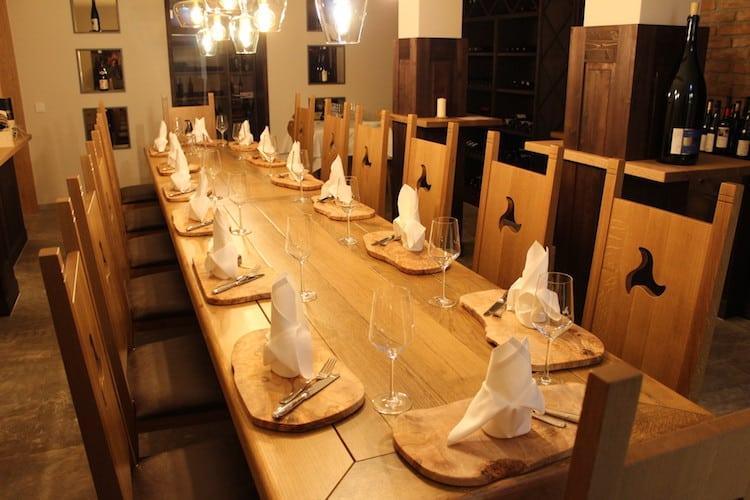 Der Klosterhof Weinkeller liegt im Altbau
