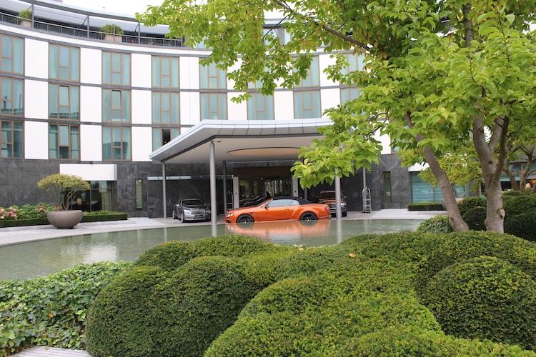 Das Ritz-Carlton steht auf dem VW Gelände der Autostadt Wolfsburg