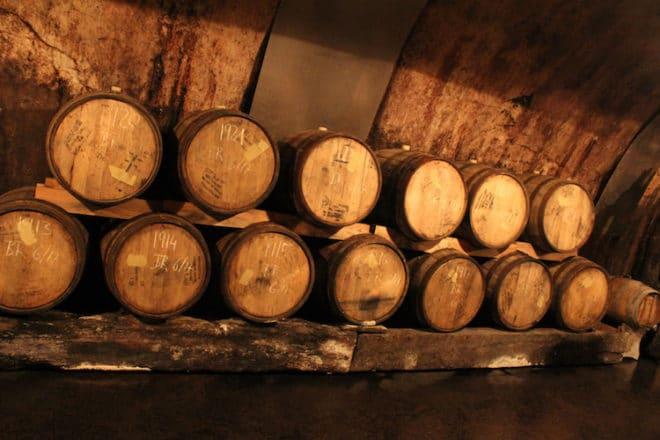 Der Weinkeller der Brauerei Faust verbirgt wahr Schätze.