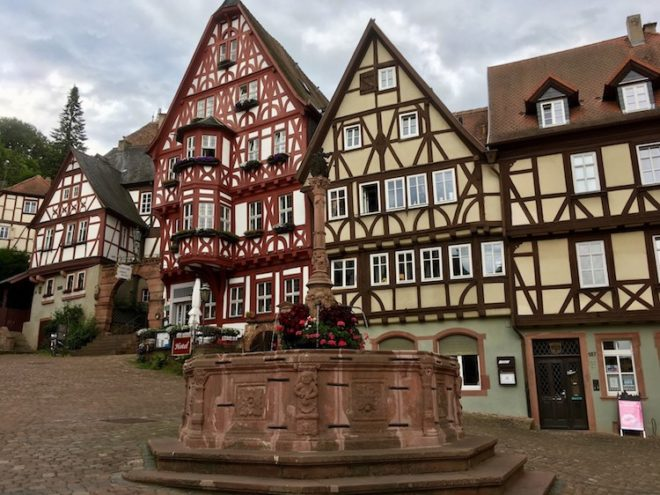 Der Marktplatz von Miltenberg