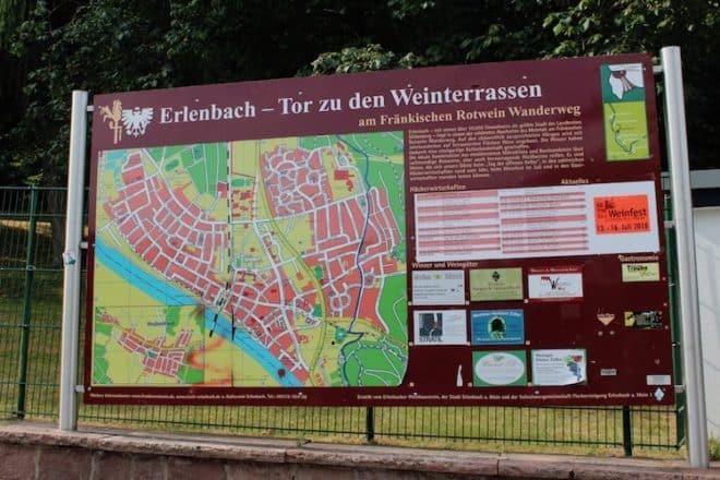 Erlenbach ist das Tor zu den Weinterrassen