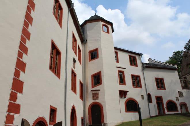 Die Mildenburg war Sitz der erzbischöflichen Burggrafen.