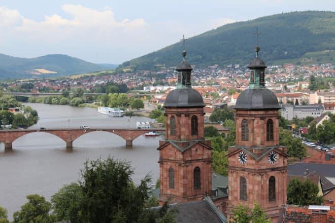 Vom Turm der Mildenburg hat man einen fantastischen Blick über Miltenberg