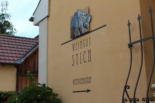 Das Weingut Stich in Bürgstadt