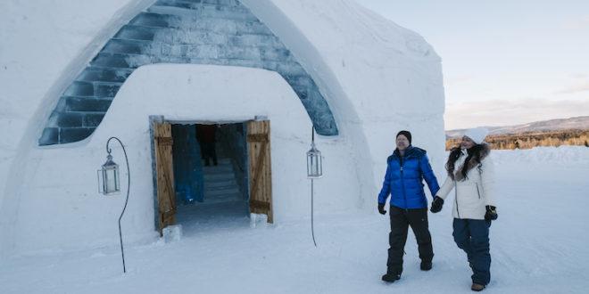 Québec - Eishotel bereits zum dritten mal im Feriendorf ...