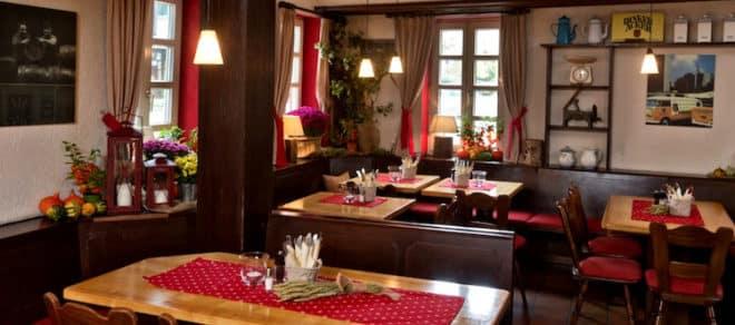 Das gemütliche Restaurant Tauberquelle in Stuttgart legt viel Wert auf Tradition.