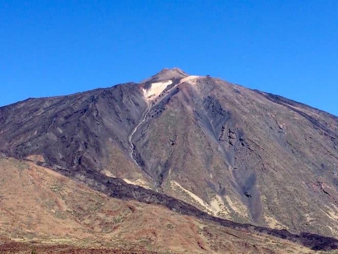 Der Pico del Teide ist Spaniens höchster Berg.
