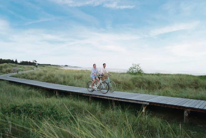 Rund 200 km Radwege gibt es auf der Nordseeinsel Föhr zu erkunden.