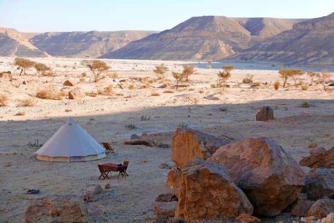 Luxus Camping im Oman - Vom  Dhofar Gebirge bis zur Rub al-Chali Wüste