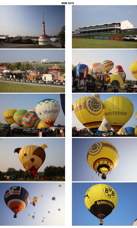 Ballonfahrer aus aller Welt trafen sich zur 29. Warsteiner Internationale Montgolfiade (WIM)