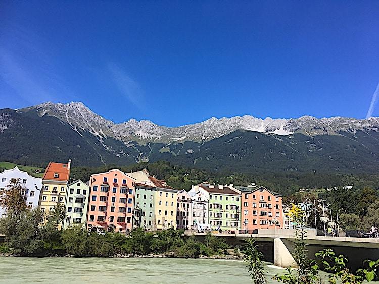 Auf der Radreise von München nach Venedig gehört Innsbruck unbedingt zu den sehenswerten Städtebesuchen