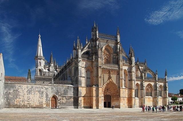 Teil der Sehenswürdigkeiten auf dem Portugiesischen Jakobsweg - Kloster Batalha