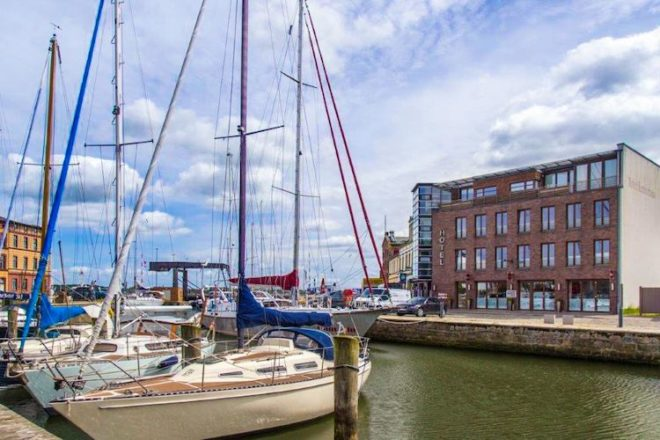 Auch für das Hotel Kontorhaus auf der Hafeninsel in Stralsund ist die Corona Krise eine wirtschaftliche Katastrophe.