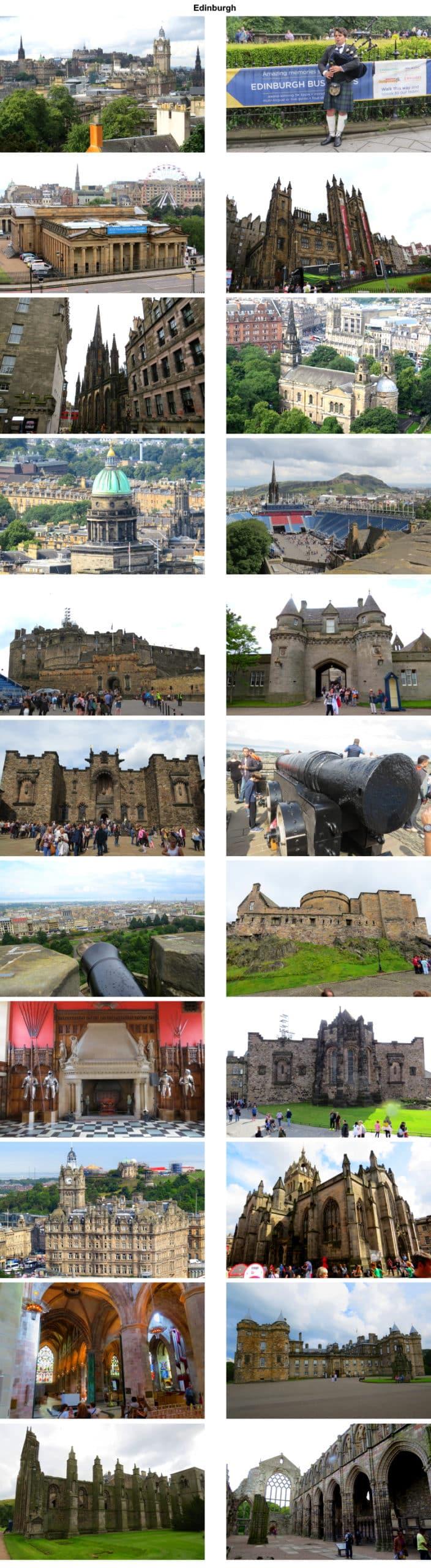 Edinburgh ist das nächstes Ziel auf der Kreuzfahrt mit der MS Berlin.