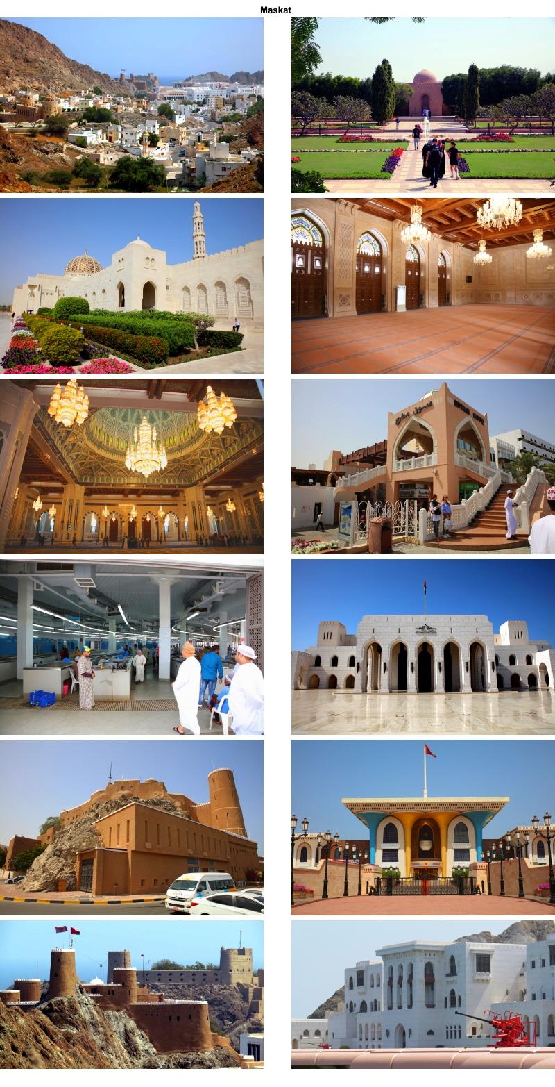Geheimnisvoller Orient. Für viele Reisende steht der Oman mit der Hauptstadt Maskat noch auf der Reiseliste.